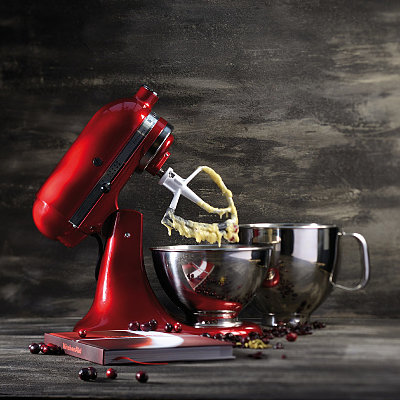 Линейка техники KitchenAid в цвете карамельное яблоко